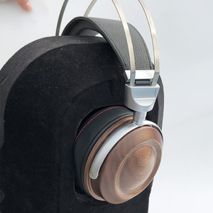 Image 3 - HiFi Headphone Case Over Ear Headphone Wooden Case Shell DIY Bluetooth Headphone Case Cover 40MM 50MM 53MM