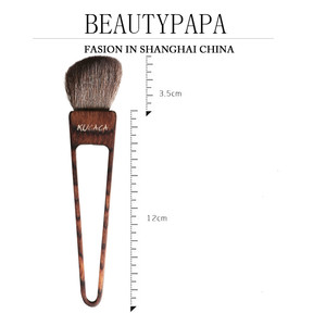 Image 5 - Beautypapa Triangle Design Makeup Brush Set Goat Hair Blush Brush HighLight EyeShadow Brush Handmade Professional