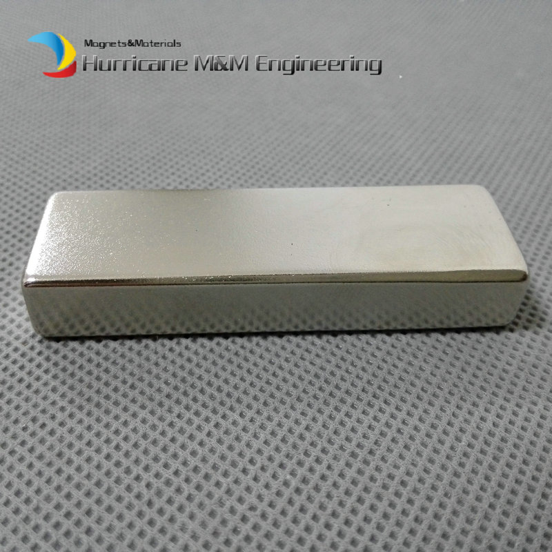 4 pcs/lot Large NdFeB Magnet Bar 60x20x10 mm Strong Neodymium Permanent Magnets  Rare Earth Magnets Grade N42 NiCuNi Plated ndfeb n42 magnet large disc od 100x10 mm with m10 countersunk hole 4 round strong neodymium permanent rare earth magnets