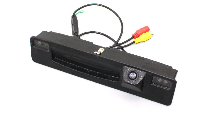 Liislee For Ford Focus 2015~2018 Trunk Handle  Car Rear View Rearview Camera Backup Reverse Parking Camera  Night Vision7
