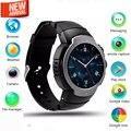 Lem3 smart watch suporte 3g wifi bluetooth rom smartwatch 4 gb sim relogio 3G Wifi Navegador cartão Skype Twitter etc Para IOS Android