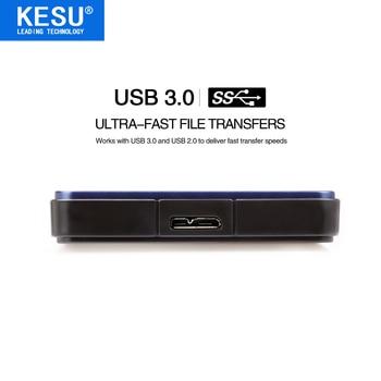 KESU 2.5″ Portable External Hard Drive USB3.0 120GB 160GB 250GB 320GB 500GB 1TB 2TB HDD External HD Hard Disk for PC/Mac Xbox TV
