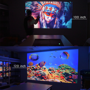 Image 5 - Everycom T26L Real LCD Full HD Projector Native 1080P 5500 Lumens Video Projecteur LED Home Theater HDMI Option WIFI Beamer