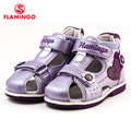 FLAMINGO famous brand 2016 New Arrival Spring & Summer Kids Fashion High Quality sandals for girls 61-XS158/61-XS159