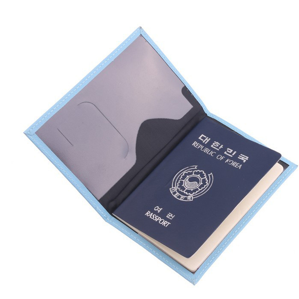 Business Card Credit Card Bank Card Holder Travel Passport ID Card Cover Holder Case Protector Organizer D30 Mar1