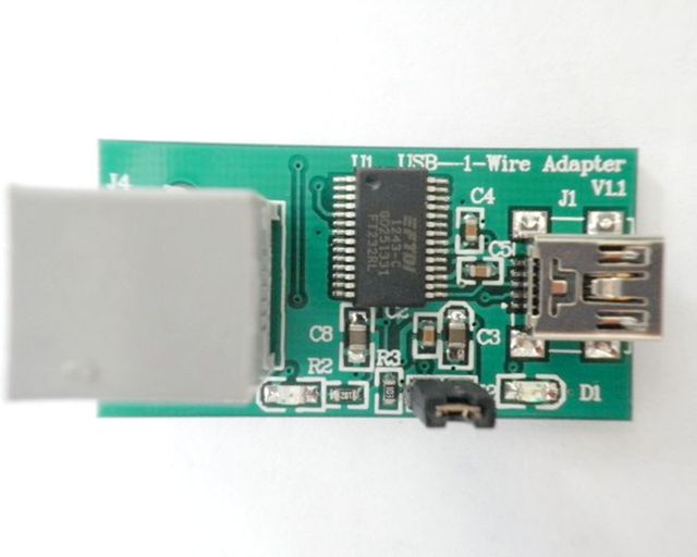 1 Wire universal programmer (DS9097/DS9490) DS2502 programmer-in ...