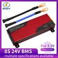 Daly 3,2 V LiFePo4 8S 24V 80A 100A 200A 18650 LFP PCM плата защиты батареи BMS с сбалансированным модулем литиевой батареи