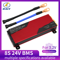 Placa bms da proteção da bateria de daly 3.2 v lifepo4 8 s 24 v 80a 100a 200a 18650 lfp pcm com módulo equilibrado da bateria de lítio Acessórios para baterias     -