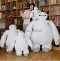 2015 новый горячий 20 см симпатичные big hero 6 baymax плюшевые милые плюшевые игрушки, куклы бесплатная доставка дети любители подарки на день рождения оптовая