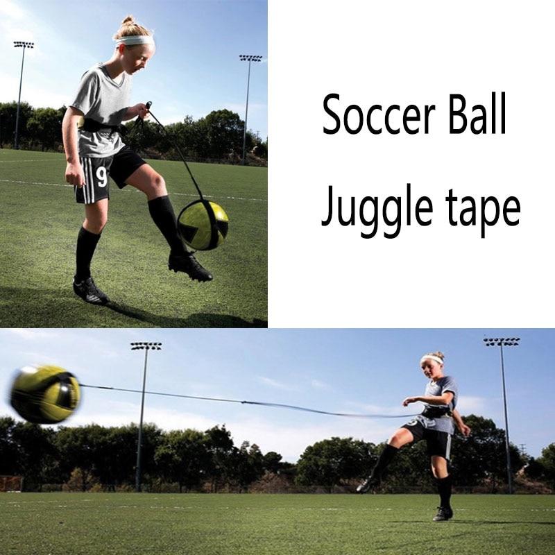 Soccer Ball Juggle Tape Children Auxiliary Circling Belt Kids Football Training