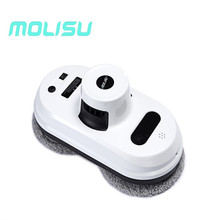 MOLISU W5 Window Cleaner Auto Clean Anti-falling Smart Window Glass Cleanercontrol Robot Vacuum Cleaner Free Shipping(China)