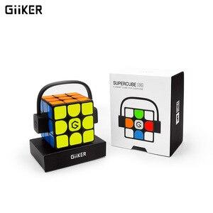 Image 5 - [Обновленная версия] Оригинальный Интеллектуальный супер куб Giiker i3s AI умный волшебный Магнитный Bluetooth приложение синхронизация головоломки игрушки