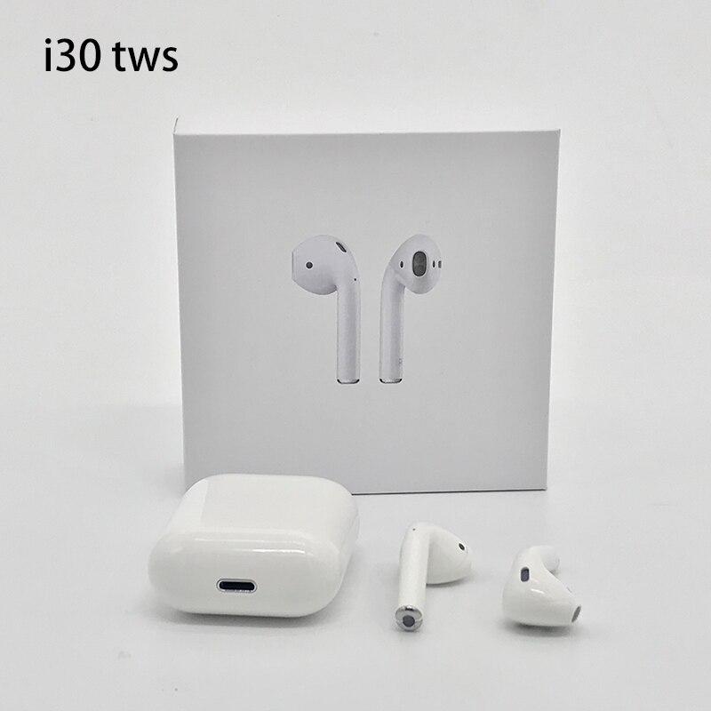 I30 TWS Pop-up 1:1 taille réplique sans fil écouteur 6D Super basse Bluetooth 5.0 écouteur i30tws PK w1 puce 1:1 i10 i20 tws i12 tws
