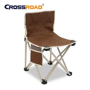 Image 2 - RU складное кресло, Высококачественная уличная мебель для кемпинга, барбекю, легкий складной стул, портативное металлическое кресло для рыбалки, пикника, пляжа
