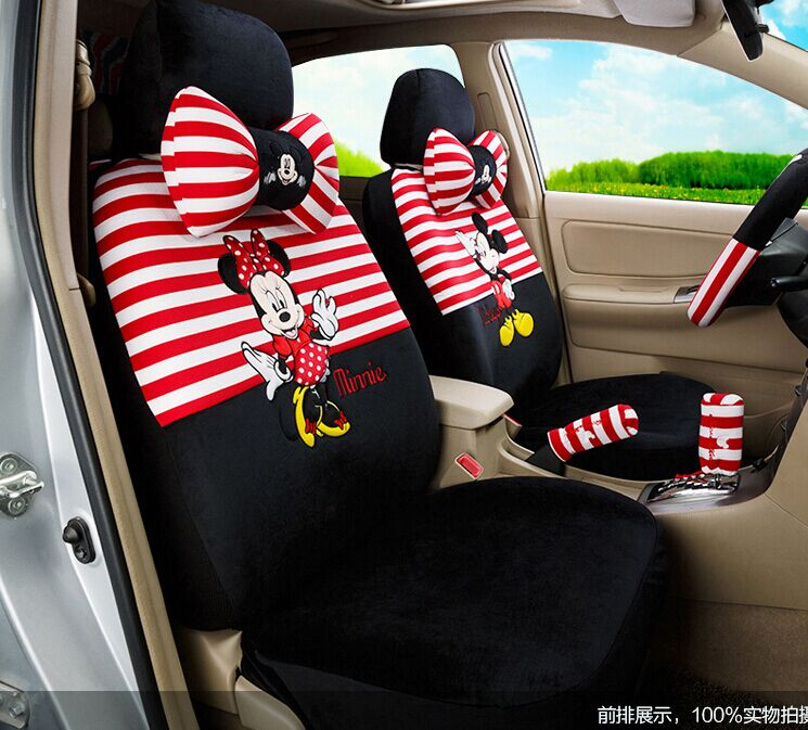 popular mickey mouse car seat covers buy cheap mickey mouse car seat covers lots from china. Black Bedroom Furniture Sets. Home Design Ideas