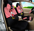 Car styling red black beige Mickey & Minnie mouse car seat covers accessories for car seats set cheap universal