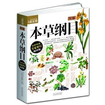 Chinese Daily Practical Medicine Book : Compendium Of Materia Medica With Pictures Explained Chinese Healing Book