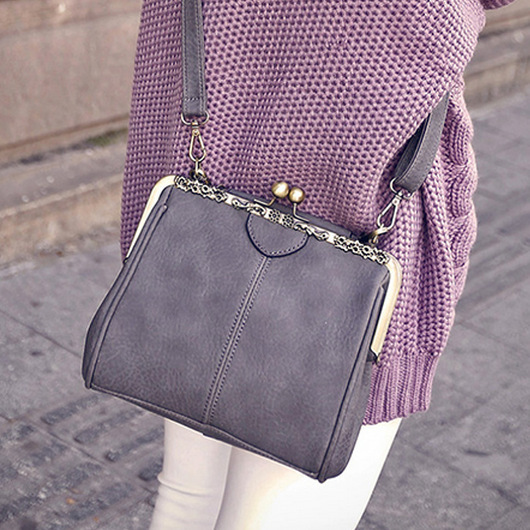 VEEVAN New Fashion Simple Messenger Bags Europe And America Style Vintage Shoulder Bag Europe And America Vintage Crossbody Bag
