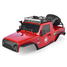 RGT PC Body Shell and Roof Rack with LED Light Bar For 1:10