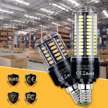 цена на Led Lamp E27 Corn Bulb 220V E14 Led Candle Light Bulb 5736 110V Lampada Led 3.5W 5W 7W 9W 12W 15W 20W No Flicker Home Lighting