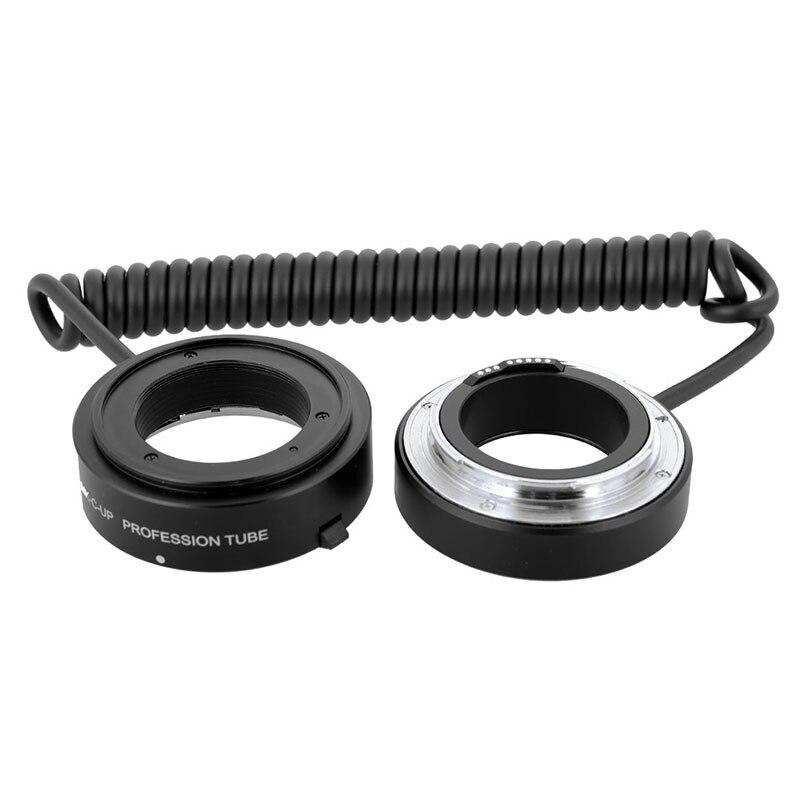 Meike MK-C-UP Auto Macro Tube d'extension AF adaptateur inverse pour appareil photo Canon EOS EF caméra de montage 6D 5D MARK IV 70D 200D 6D II - 5