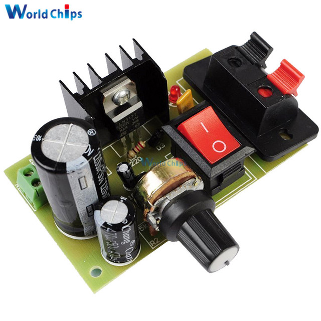 lm317 step down dc 5v 35v to 1 25v 30v diy kits ac dc power supply rh aliexpress com