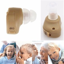 Hot Selling Hearing Aid Portable Small In The Ear Invisible Best Sound Amplifier Adjustable Tone Hearing Aids