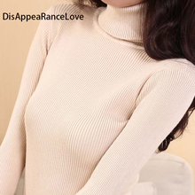 2018DRL Chandail Femmes Col Roulé Pull Dames Chemise Vente Chaude Femelle Chaud Vêtements femme chandail tricoté de haute qualité