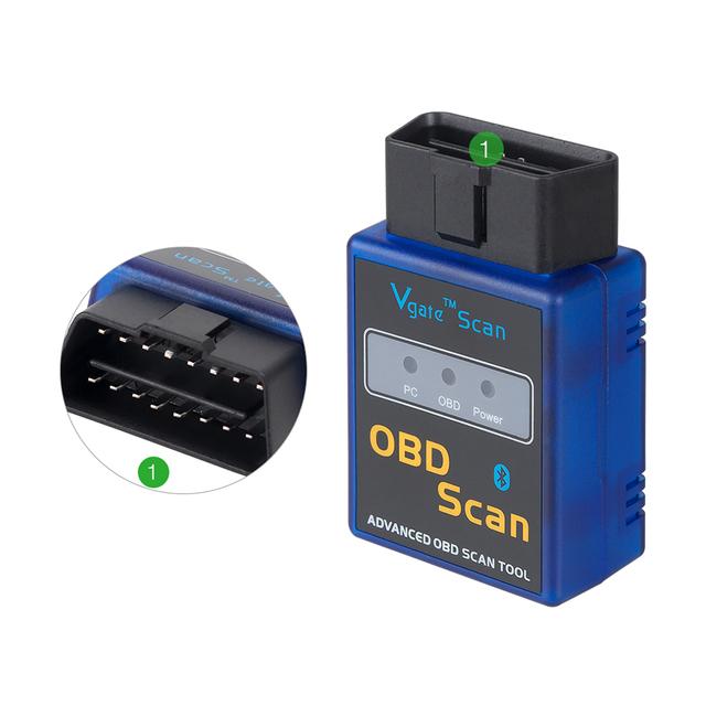 elm327 obd2 bluetooth v1.5 obd ii Support obd 2 protocols Auto diagnostic tool code reader better than elm327 obdii v2.1