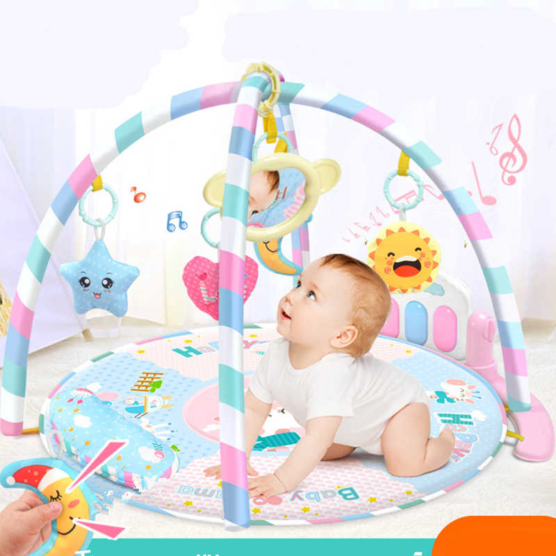 Piano Keyboard Toys Soft Infant Baby