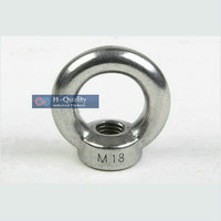 Rigging Hardware Heavy Duty M30 DIN582 Metric Thread Stainless Steel 304 Lifting Large Eye Nut