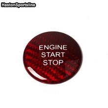 Car Styling Carbon Fiber Start Stop Engine Push Button Key Cover Trim for Mercedes Benz W205 C180 C200 C250 W212 W166 GLA GLE350