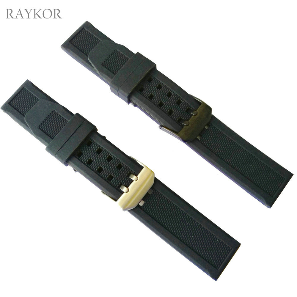 23mm Silicone Rubber Watch Band for Luminox Men Black Military Sports Diving Replacement Strap Factory Wholesale 3050 3150 3080 strap