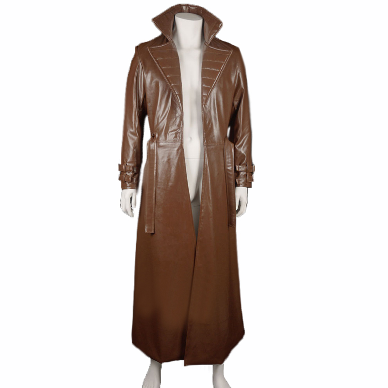 The X-MEN Series Gambit Remy Etienne Cosplay Costume Armor Set High Quality coat PU Customize
