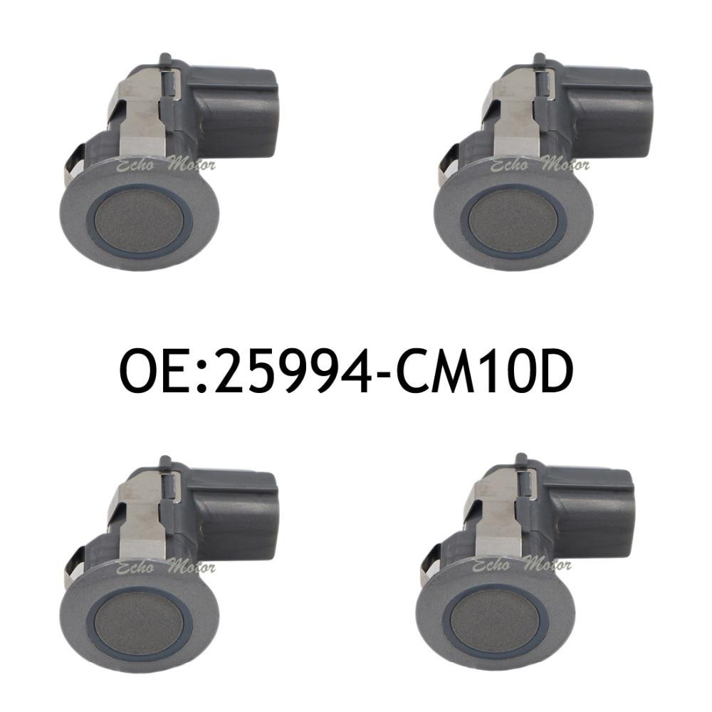 New 4PCS Original Parking Sensor Brand 25994-CM10D Ultrasonic PDC Sensor For Nissan Infiniti G20 FX50 25994-CM13E new 4pcs original parking sensor 10ca0212a ultrasonic pdc sensor for toyota yaris mazda
