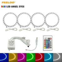 3Set Car RGB LED Angel Eyes Halo Ring Light Wireless Remote Control Headlight For Toyota Camry (Euro/US)/07 Camry (US) #FD-3100