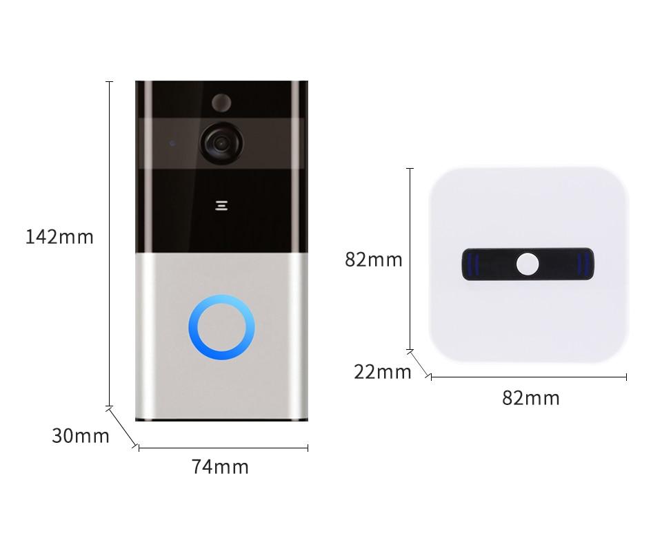 Doorbell dimension