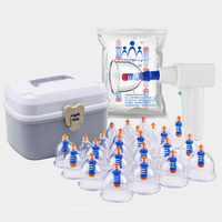 30 Cups/set Electric Charging Chinese vacuum Cupping set Household Body Massage Jars Cupping therapy acupuncture Cupping Health