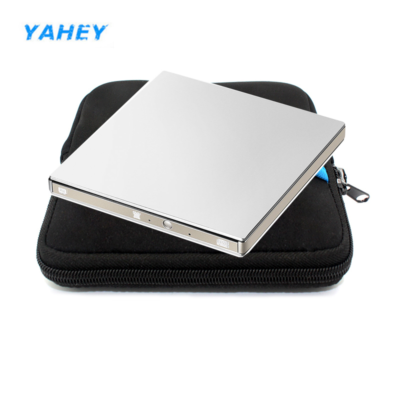 External USB 3.0 DVD Drive CD RW,DVD RW,DVDRW,Slim 8xDL USB DVD-rom raed DVD Burner for Windows 7/8/10 MAC OS linux +drive bag