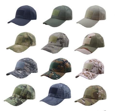 Xongkoro Erkekler Taktik beyzbol şapkası Erkek Kamuflaj Savaş Kapaklar  Sihirli Bant güneşlikli kep Ordu Şapka CP 0c561bc56b