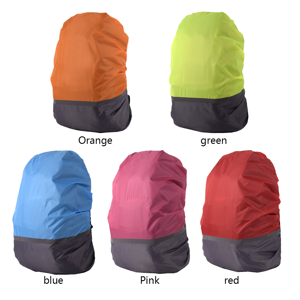 Backpack Bag-Cover Dustproof-Covers Reflective Waterproof Travel For 18-25L Outdoor Camping