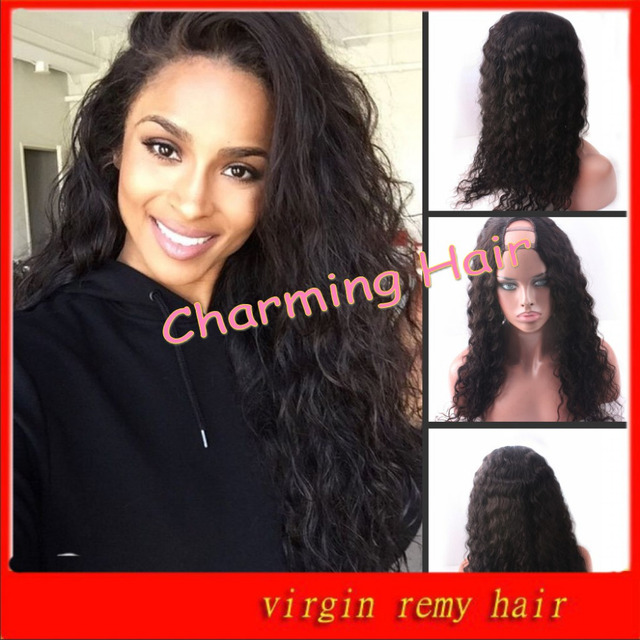 Free Style U Part Wig   African American Celebrity Wigs For Black