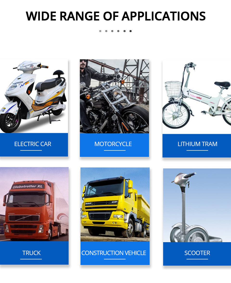 Universal Motorcycle Headlight LED 12W 18W 24W DC 9-85V LED Headlight Motorbike 8 12 16LEDs Samsung Chip Work LED Headlights  (12)