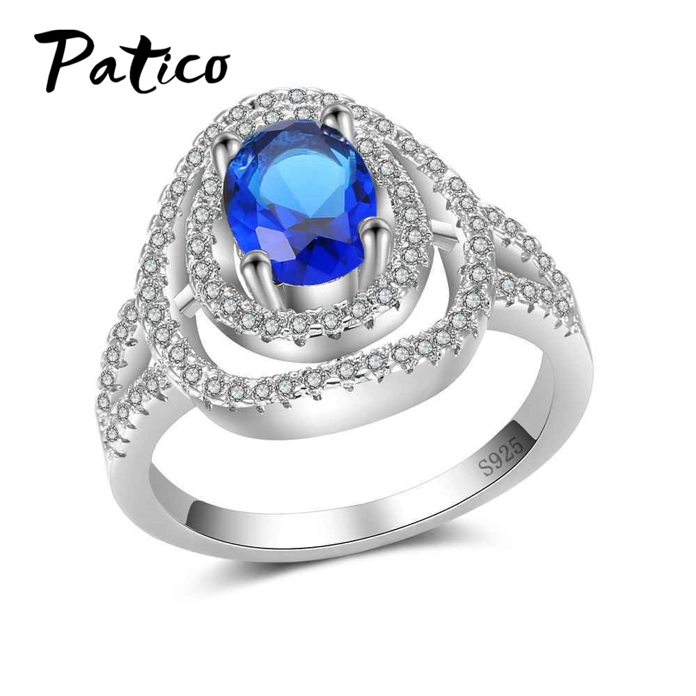 PATICO 925 Stamped Women Fashion Rings For Sale 925