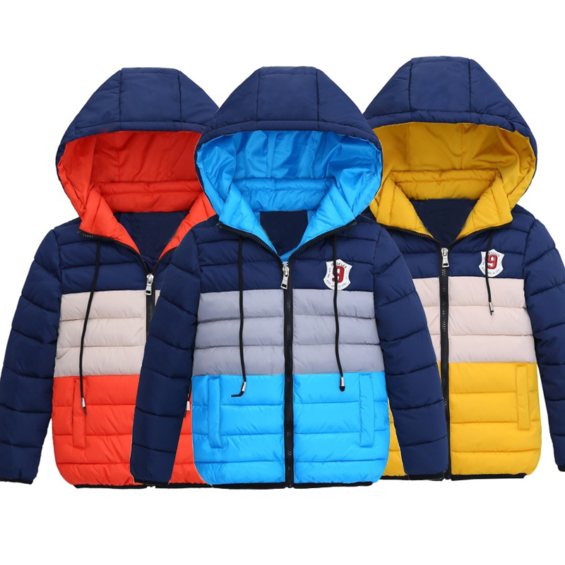 2018 Children Clothing Baby Boys Jacket Winter Warm Jackets For Boys Coats Hooded Jacket Kids Clothes Outerwear 4 5 6 7 8 Years сковорода tefal tendance chocolate 26см 04147126