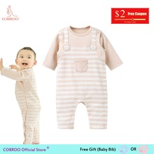 COBROO Clothes Unisex Baby Girl Romper-Overall Autumn