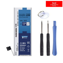 100% Original NOHON 1560mAh New Batteries For Apple iPhone 5S Battery 5C + Free Machine Tools