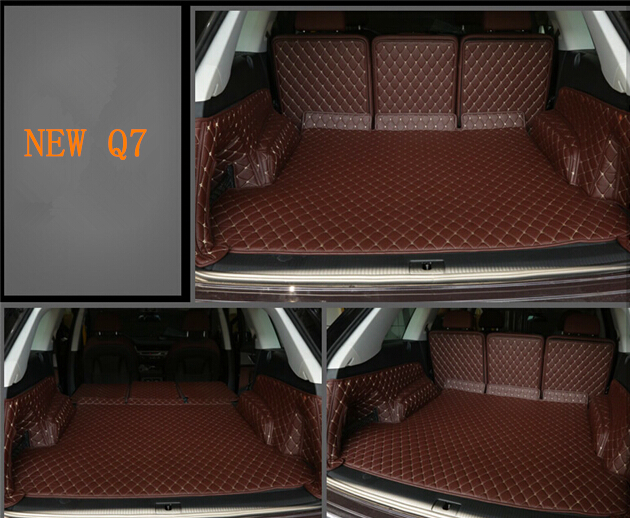 Good Quality Special Trunk Mats For New Audi Q7 5seats