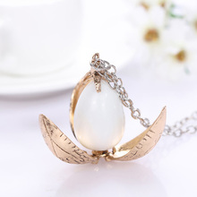 Harry Styles Fire Dragon Egg Potter Pendant Goblet Of Fire Rotation Activity Unisex Magic Open Gift Vintage Necklace Wholesale
