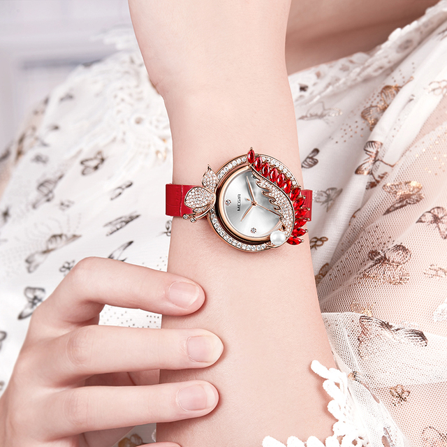 MEGIR Luxury DIY Women Watches Top Brand Luxury Quartz Women Bracelet Watch Clock Reloj Mujer Relogio 2018 Feminino Montre Femme 5